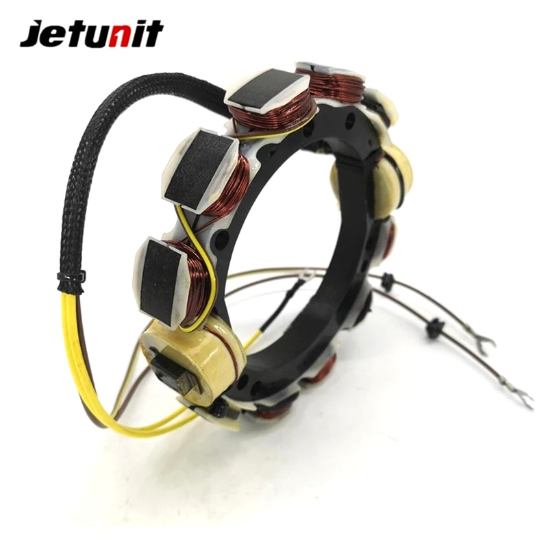 Outboard Stator For Johnson Evinrude OMC 12AMP 4Cyl 1873--1977(85,115,135&140HP) 【OEM】581680,582099,581303,581860 enlarge