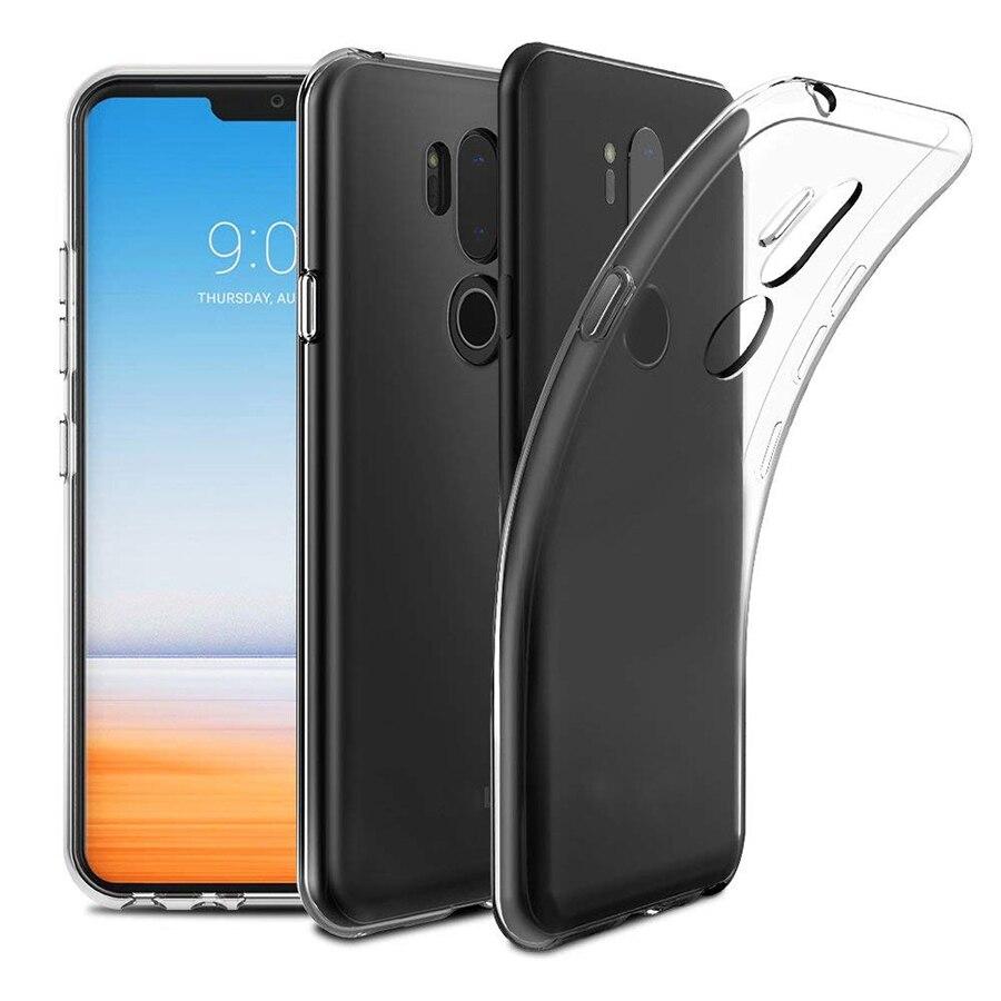 Cherie Shockproof Case For LG G6 G7 V40 V30 V20 V10 Q7 Q6 Q60 G5 G4 G3 G2 K50 K40 K4 K10 K8 2017 2018 Cover Clear Soft TPU Case