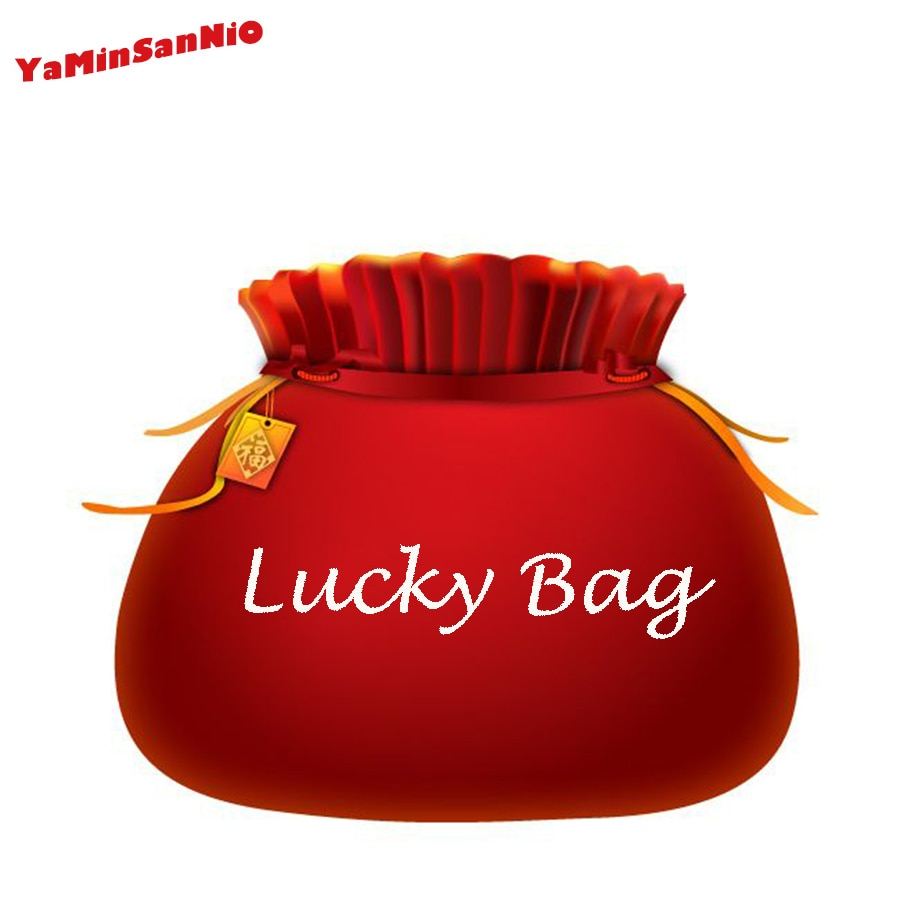 Venta caliente luck bag para coche clave cadena anillo de seguridad