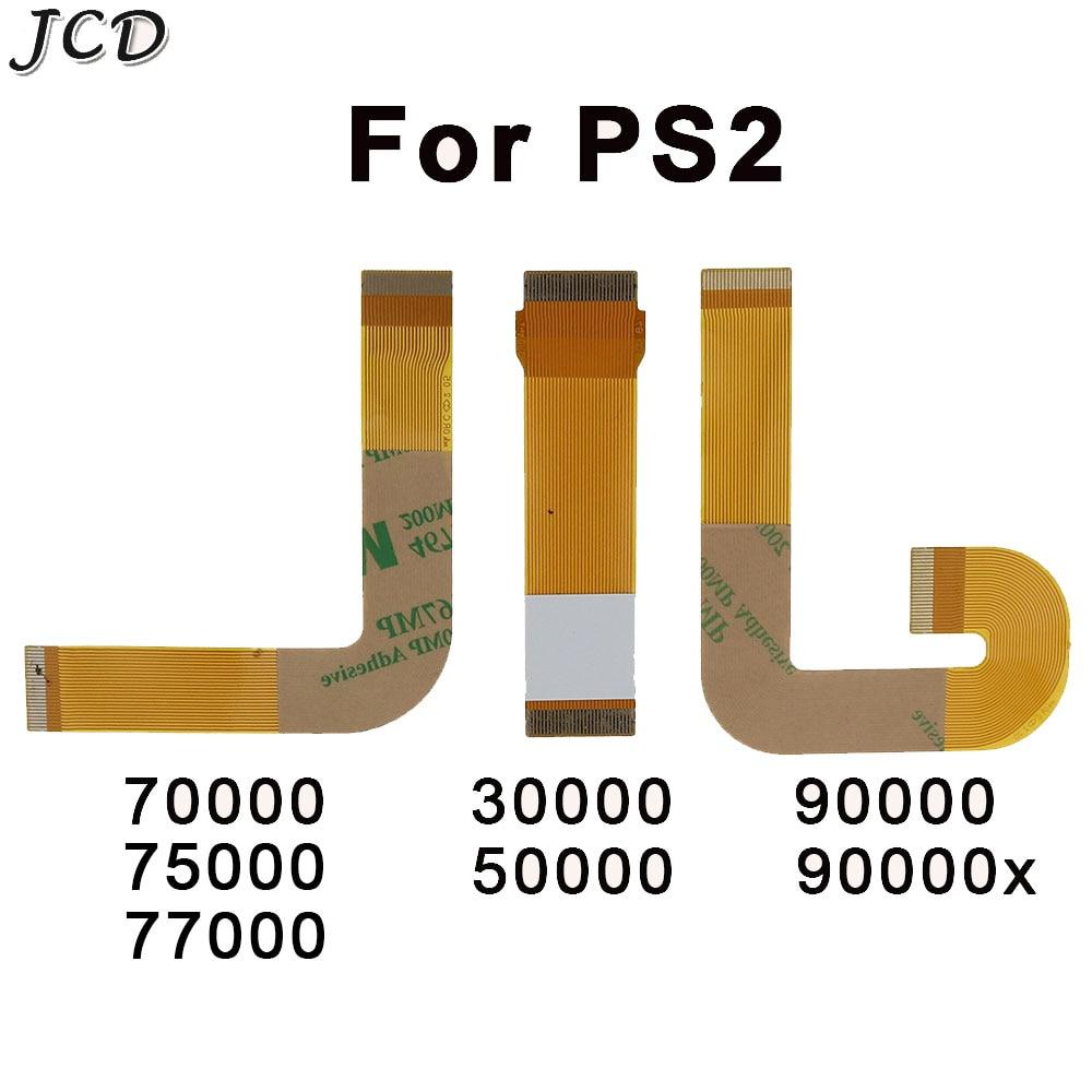Ленточный кабель JCD, Лазерная линза для PS2 Slim Flex Connection SCPH 30000 50000 7000 90000, запасные части