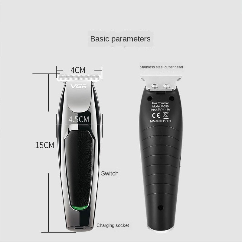 Electric Hair Clipper Oil Head Electric Hair Cutter Shaving Head 0 Knife Head Carving Bald Hair Clipper Electric Shaver for Men enlarge