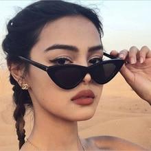 Vintage Fashion Cat Eye Sunglasses Retro Women Sunglasses Men Eyeglasses Triangular Sun Glasses Ocul