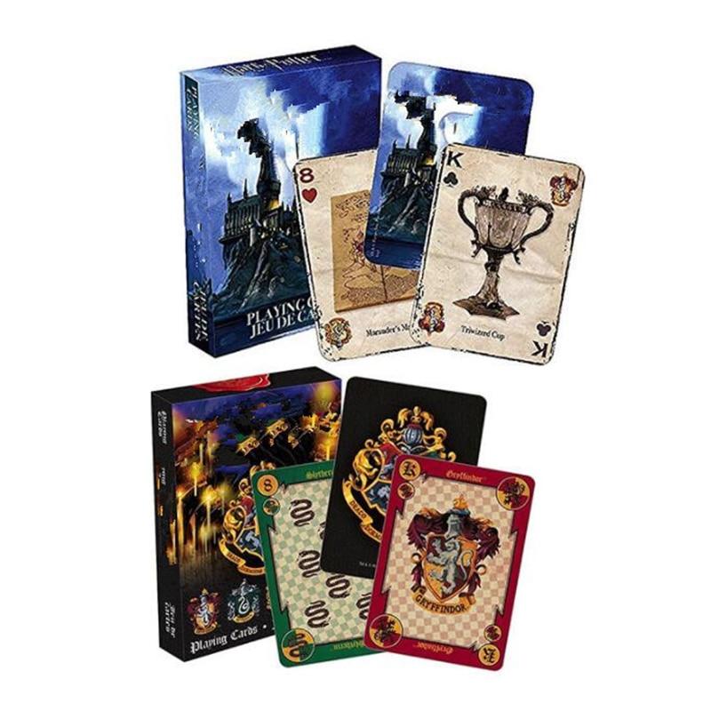 Коллекция значков Hary игральные карты, игра House Potters, символы, кресты замка, 2 узора, английский логотип, волшебная детская игрушка