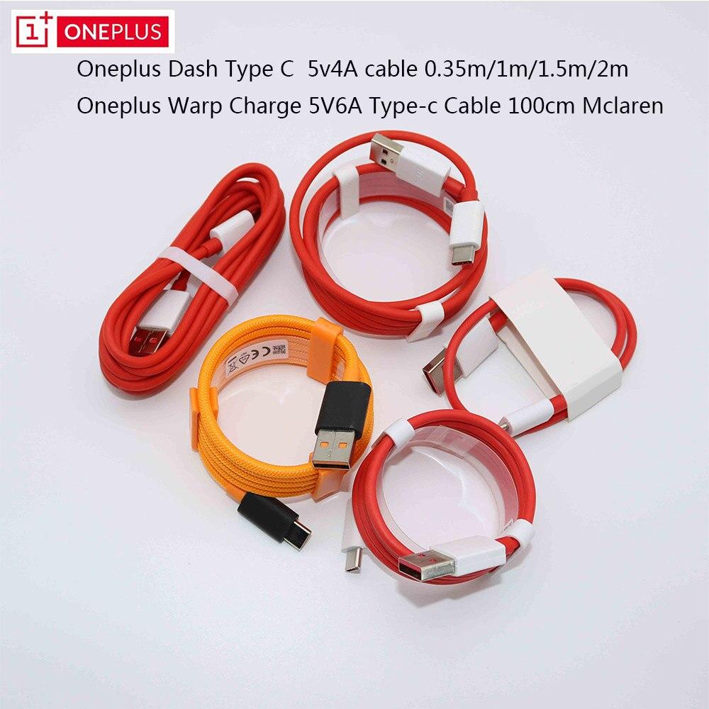 Кабель USB 3,1 для быстрой зарядки Oneplus Dash type C 0,35 М/1 м/1,5 м/2 м и кабель типа c 100 см mlaren