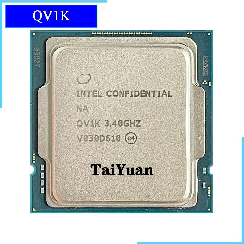 [해외] 인텔 코어 i9 11900K ES QV1K 8 코어 16 스레드 CPU 프로세서 65W 16M 필요 B560 Z590 마더 보드 소켓 1200 LGA
