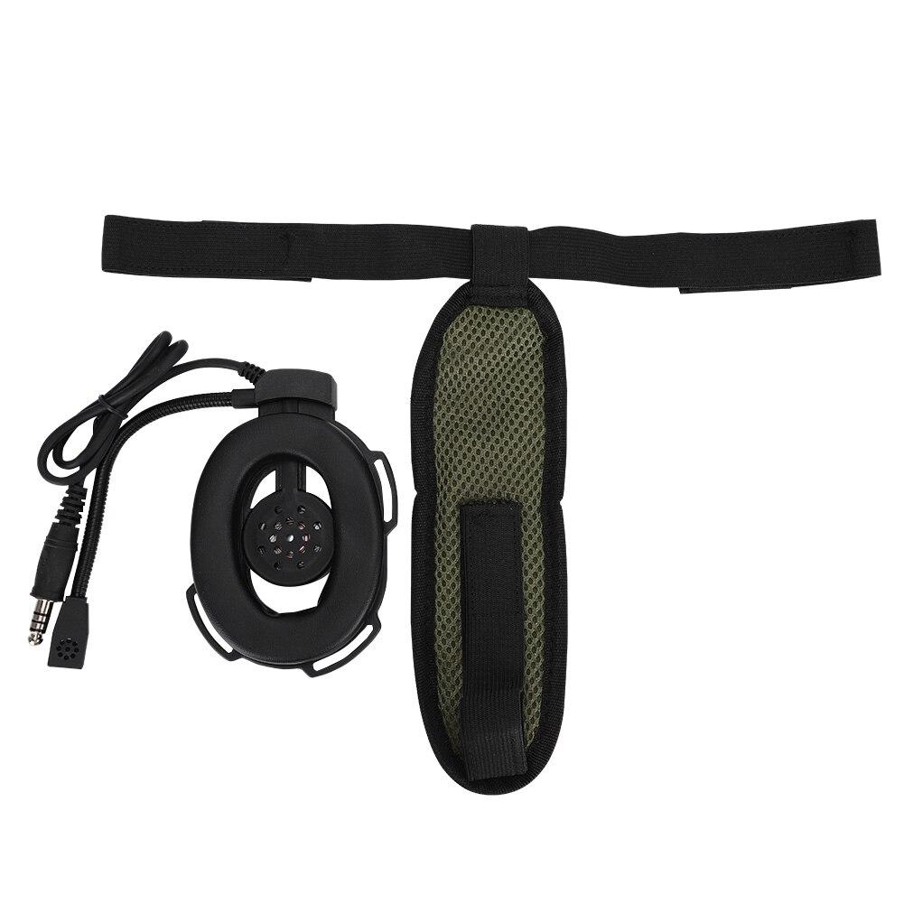 Auriculares de gran resistencia para la cabeza, auriculares con almohadillas de oído ventiladas, cinturones colgantes ajustables para Bowman Elite II