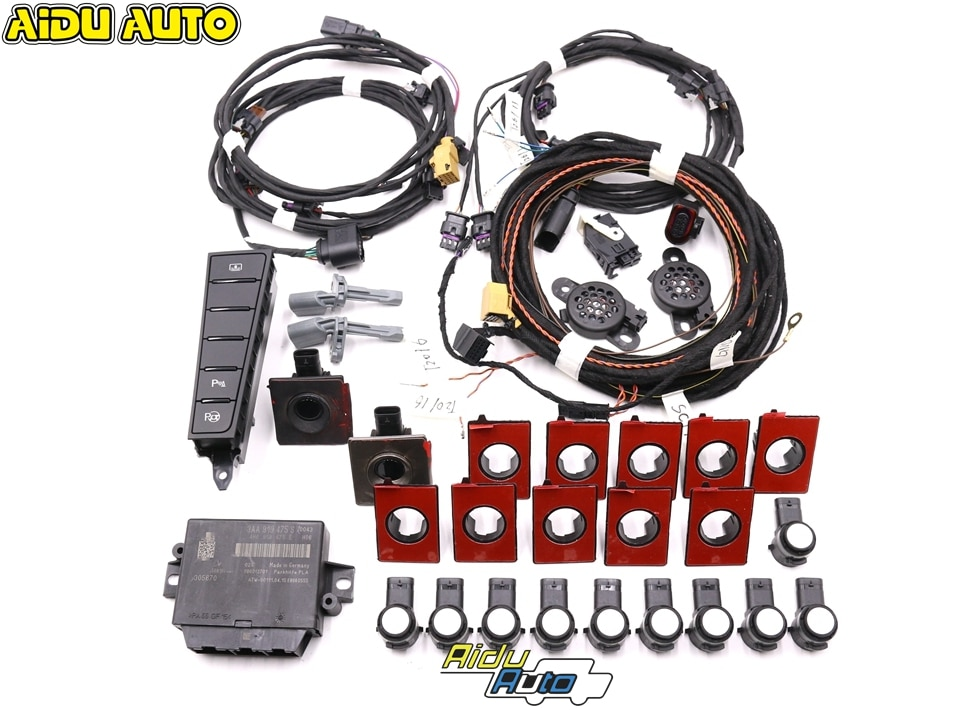 Asistencia de aparcamiento inteligente 12K OPS delantera y trasera, asistencia de estacionamiento PLA 2,0 para VW Passat B7 CC 3AA 919 475 S/M