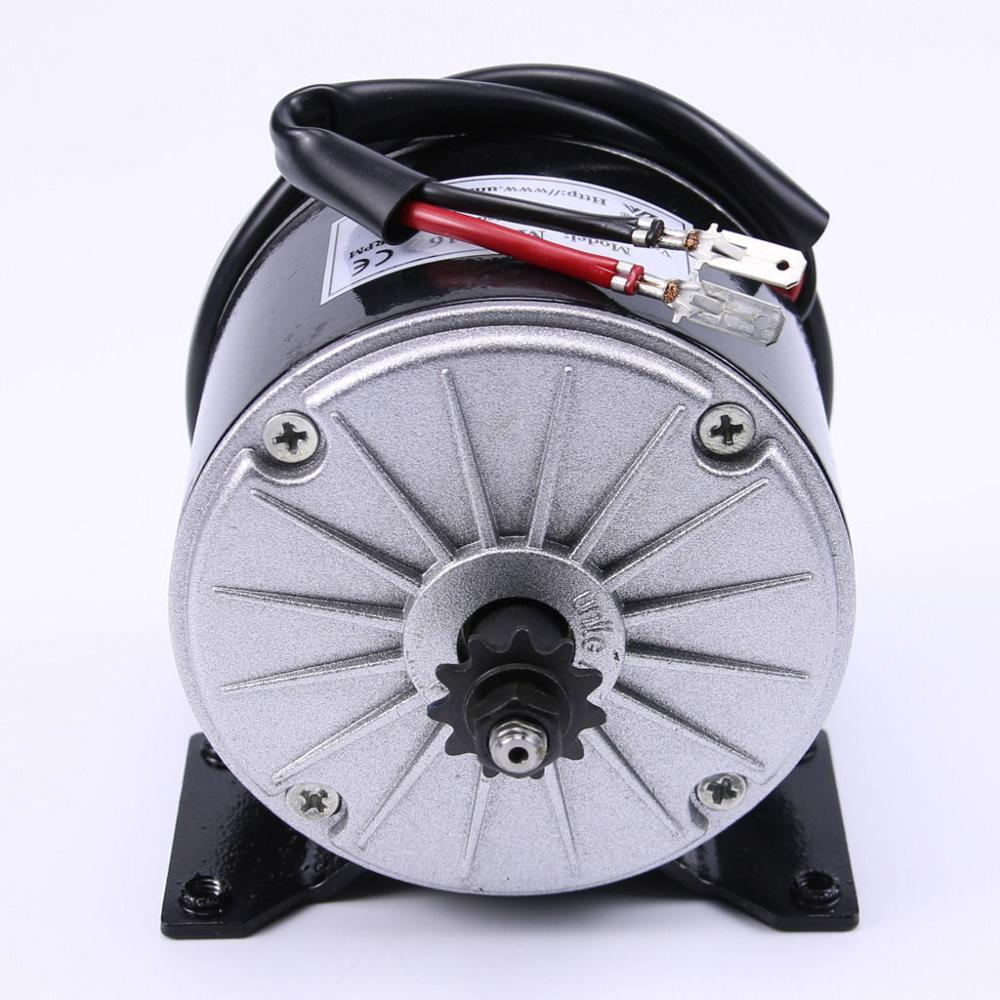 36v 350w DC Motor eléctrico con escobillas Scooter Gokart Minibike E-ATV MY1016 navaja de afeitar