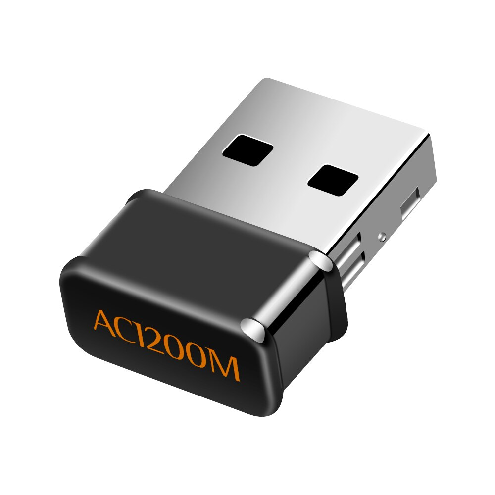 Mini adaptador WIFI USB Wifi Usb 1200Mbps clave AC Dual Band Wireless adaptador Compatible Wifi adaptador Lan Wifi Dongle receptor Wifi