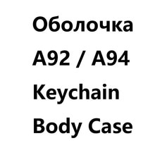 Keychain Case body Cover For Russian Version two way Car Alarm StarLine A92 A94 A62 A64 Case Keychai