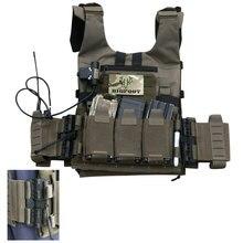1 ensemble GTPC à dégagement rapide léger tactique tir Range entraînement tactique militaire gilet-Pull corde Version sans Spile