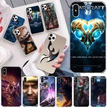YJZFDYRM guerriers starcraft 2 housse de téléphone pour iPhone 11 pro XS MAX 8 7 6 6S Plus X 5S SE 2020 XR couverture
