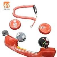 waterproof plastic handsetindustrial telephone handsetcell phone handset