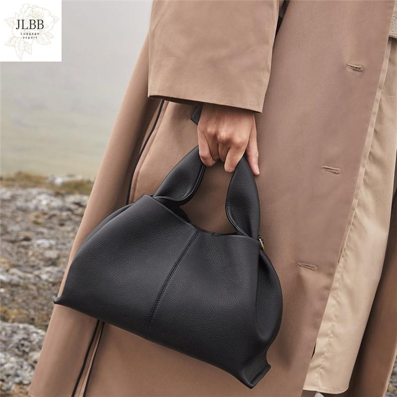 Fashion Ruched Hobos Women Handbag Designer Women Bag Luxury Soft Pu Leather Shoulder Crossbody Bags Lady Simply Tote Purse 2021