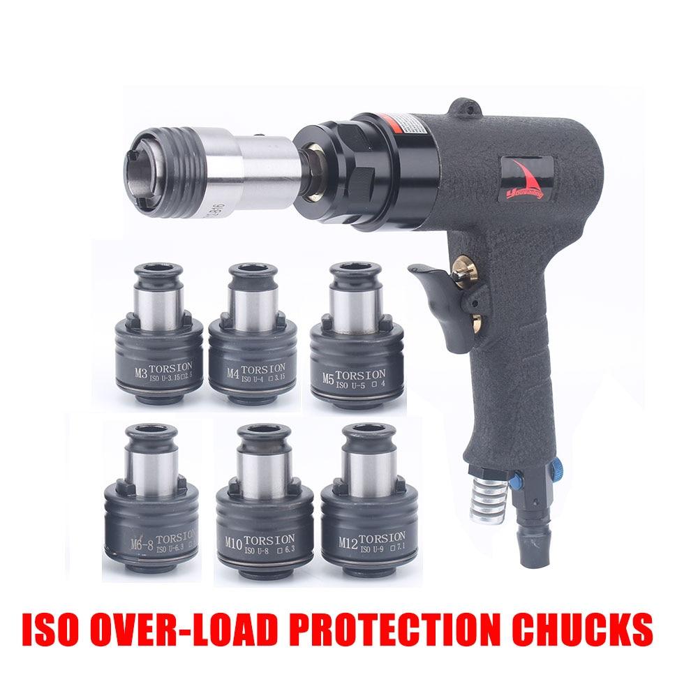 M3-M12 ISO خلال الحمل حماية الطبطبات مسدس نوع آلات التنصت هوائي الحفر تابر