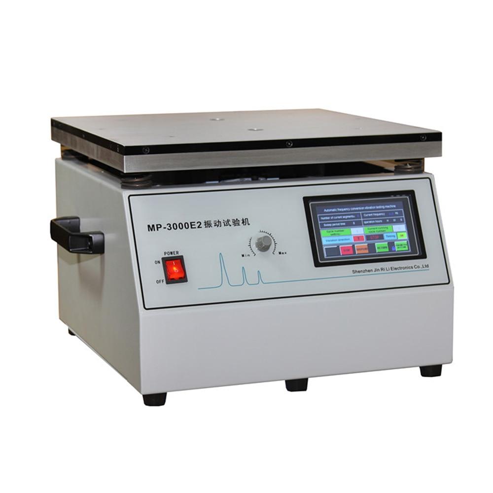 MP-3000E2 تحويل التردد ماكينة اختبار اهتزازات قابل للتعديل تردد الاهتزاز اختبار أداة آلة MP-3000 30 كجم