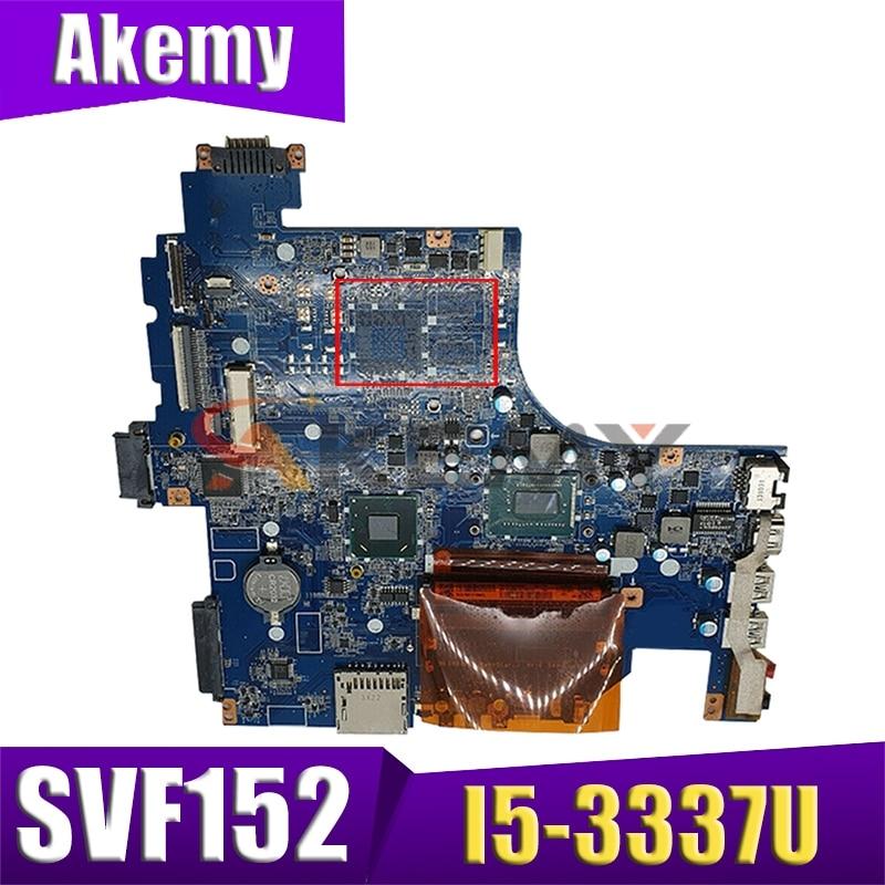 AKEMY لسوني SVF152C29M SVF1521P2EB SVF152 اللوحة المحمول I5-3337U DDR3 A1945014A DA0HK9MB6D0