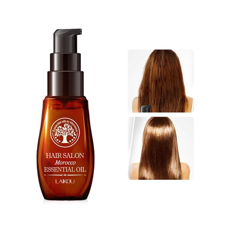 Morocco Hair Care Essential Oil Hair Care Scalp Essential Oil For Repairing Dry Damage Multi-functional Keratin Hair Treatment недорого