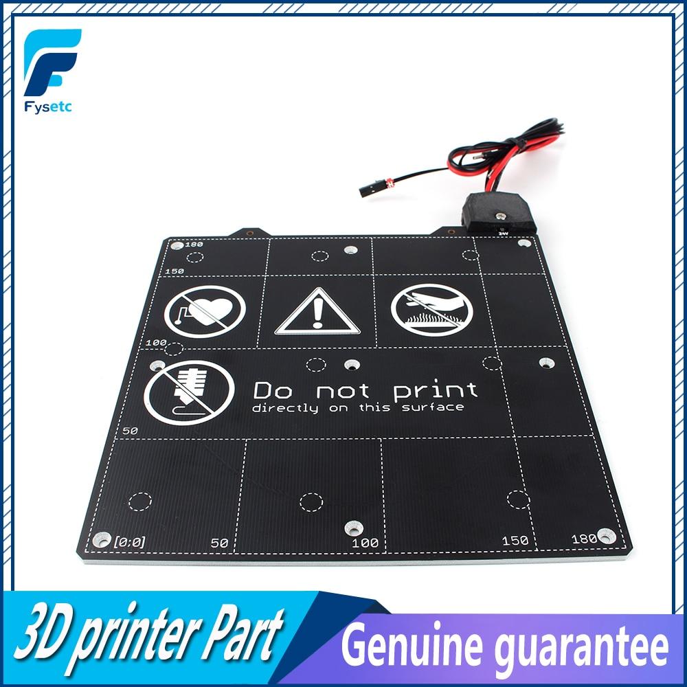 Clone Prusa Mini Magnetic heatbed 24V pursa mini hot bed Support PLA, PETG, ASA, ABS, Flex(assembly)