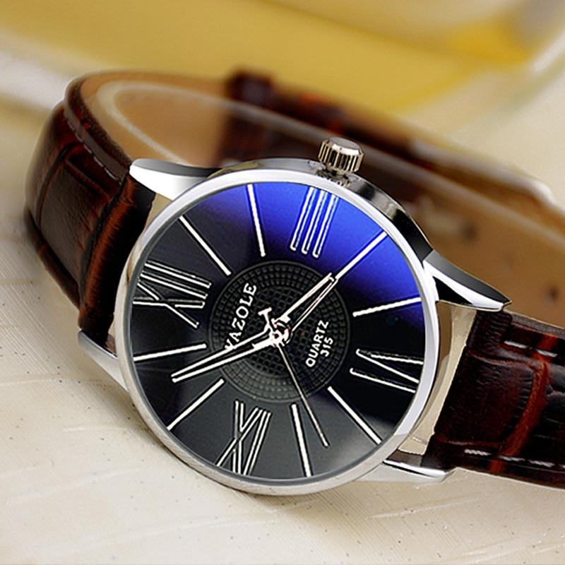 YAZOLE Hot Sell Simple Fashion Leisure Quartz Wristwatch Ideal Gifts Charming Appearance Graceful Elegant Style Women Watch 315