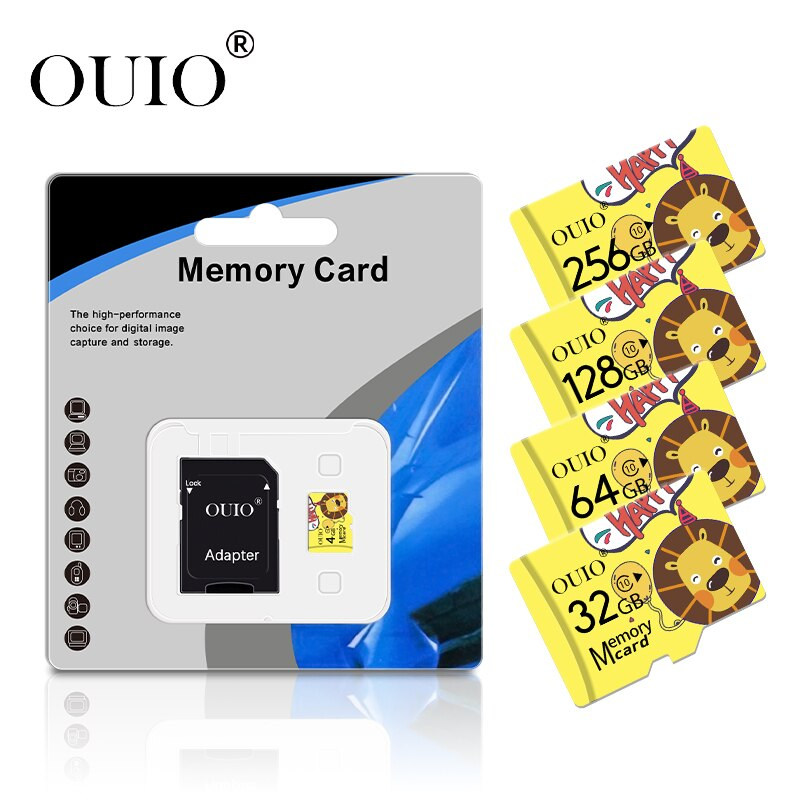 Hot Selling micro sd memory cards 8GB 16 GB 32 GB High speed 64GB class 10 micro sd card 128gb 256gb TF card for Phone/Tablet PC