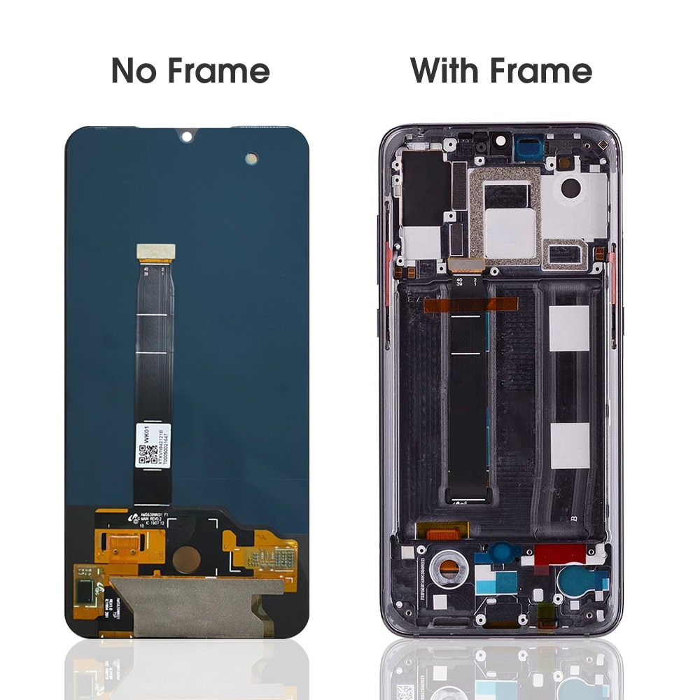 6.39''Original Display For Xiaomi Mi 9 LCD Display Touch Screen Digitizer Assembly  For Xioami Mi9 LCD M1902F1A Replacement Part enlarge