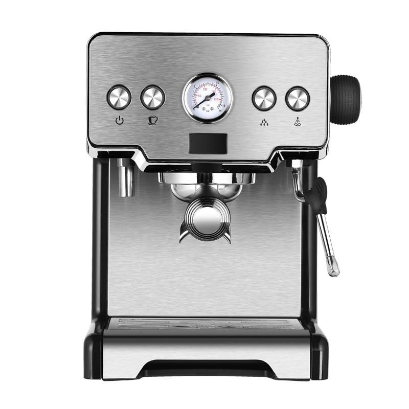 ماكينة صنع القهوة الإيطالية CRM3605 من الفولاذ المقاوم للصدأ ، مضخة نصف أوتوماتيكية 15 بار ، 220 فولت ، 1450 واط ، 1 قطعة