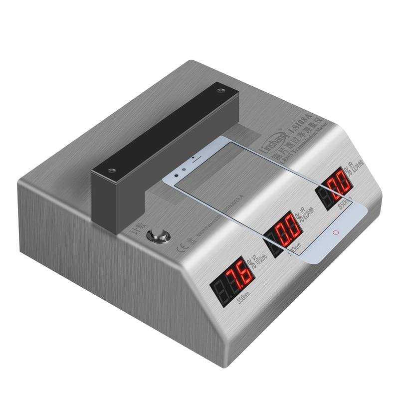 Ls108a عدسة اختبار النفاذية/الأشعة تحت الحمراء اختبار نفاذية الحبر/عدسة الهاتف المحمول