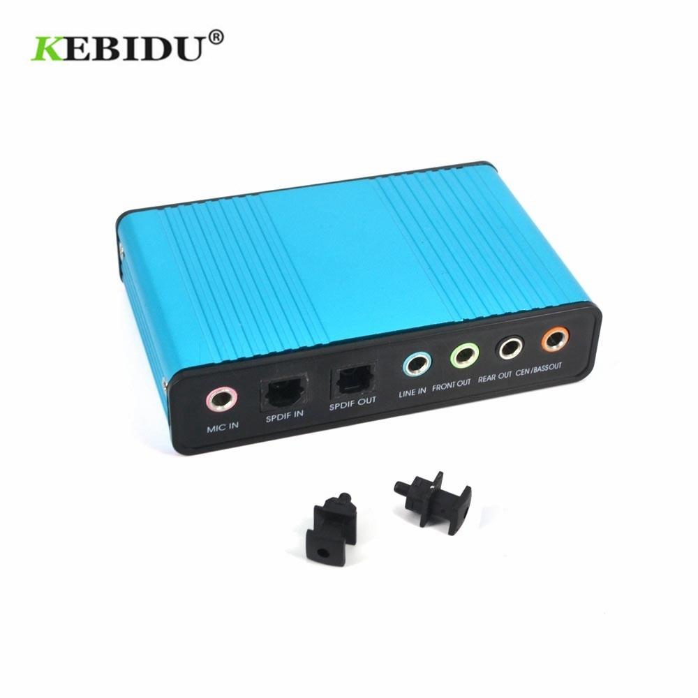 USB-аудиоадаптер Kebidu