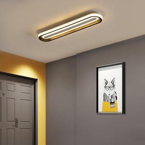 Black White Simple Design Modern Led Ceiling Lights For Living room Bedroom Kitchen Dining room indoor Lighting Ceiling Lamp