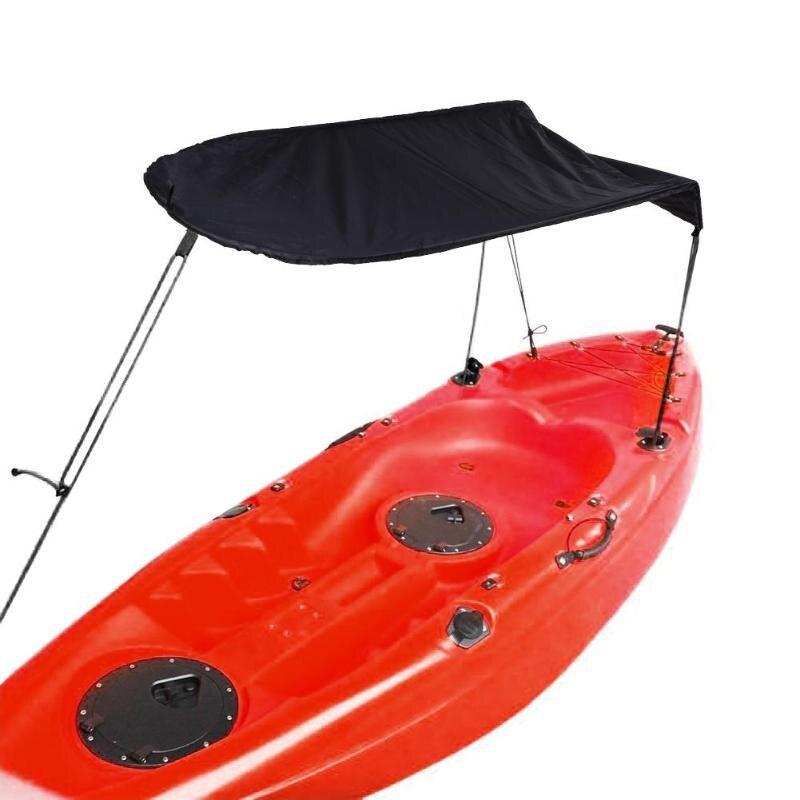 Personne seule Kayak bateau abri soleil voilier couverture pare-soleil auvent Kayak bateau canoë pêche tente soleil pluie auvent