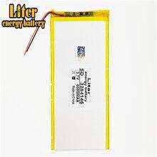 Планшетный ПК 3,7 в, 6000 мАч (полимерная литий-ионная батарея), литий-ионный аккумулятор для планшетного ПК 7 дюймов 8 дюймов 9 дюймов [3284145]