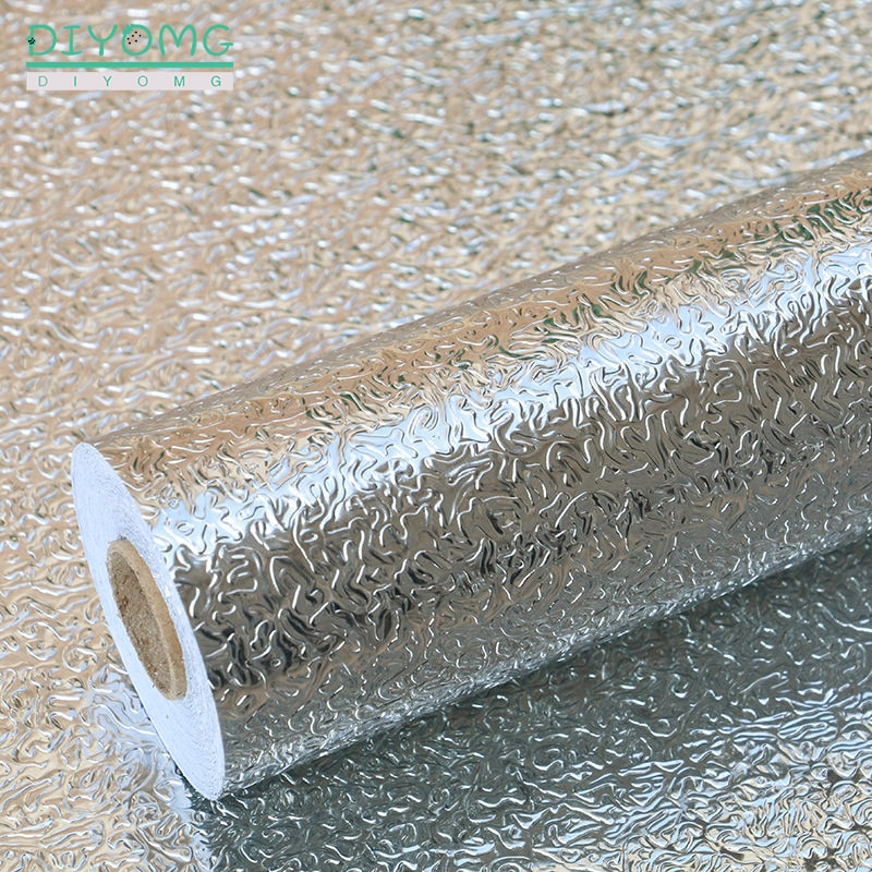 Pegatinas de pared para cocina de 30/40cm de ancho, papel tapiz autoadhesivo impermeable, papel tapiz a prueba de aceite, pegatinas para cocina y armarios, película de decoración
