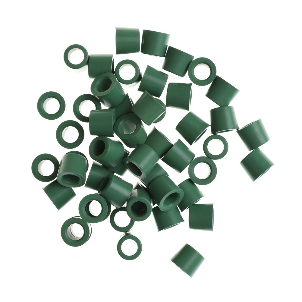 50pcs/lot Green Air Conditioning 1/4'' Charging Hose 1/4'' Valve Gasket Manifold Repair Seal Kit Replacement Wholesale