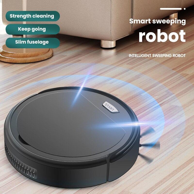 الذكية جهاز آلي لتنظيف الأتربة متعددة الوظائف 3 في 1 قابلة للشحن الطابق كنس تنظيف آلة الرطب و منظف بالهواء الجاف