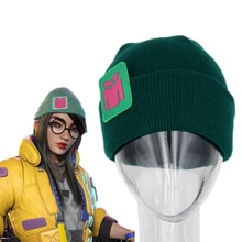 VALORANT KILLJOY Hats Cartoon Game Cosplay Hat Clothing Accessories Knitted Hip Hop Cap Hat of  Men