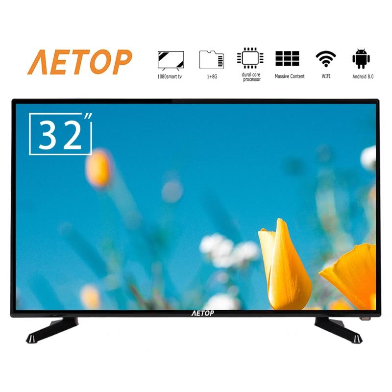 Envío gratis por mar android 8,0 tv LED televisores led de 32 pulgadas 2k smart tv con wifi