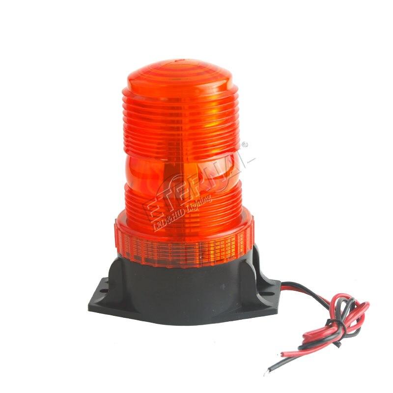 ¡Envío gratis! Faro LED de 6x9W, lámpara estroboscópica de advertencia para camión, remolque, escuela, tractor de autobús, coche, equipo de carretilla elevadora