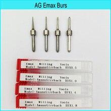 Amann Girrbach Compatiable Emax glass milling bur, Dental diamond zirconia Milling bur Tungsten Carbide