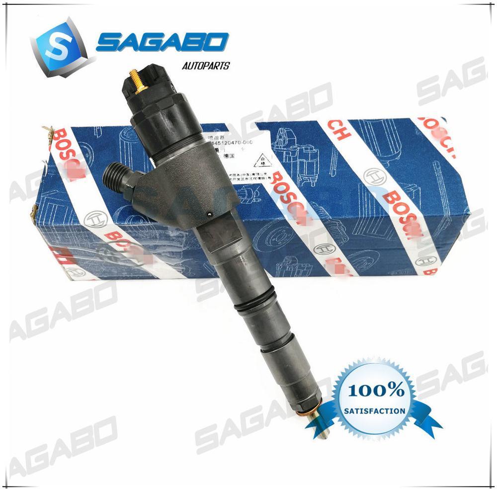 4 шт. топливный инжектор Common Rail подлинный и абсолютно новый 0445120066 0445120470 20798114 04290986