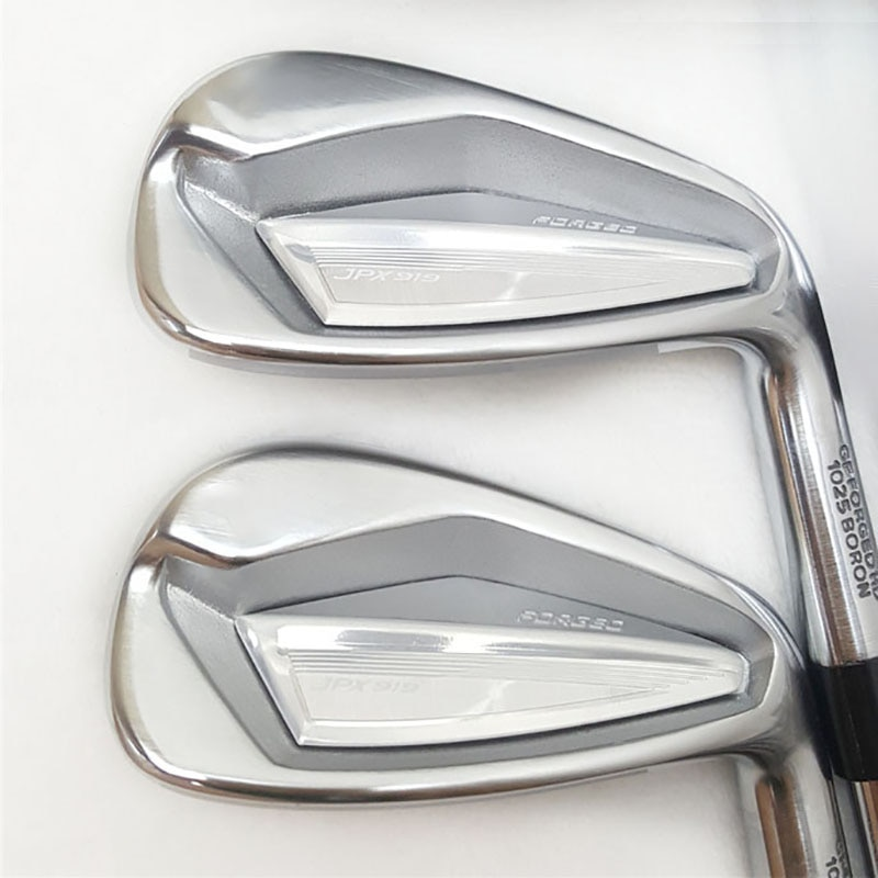 New JPX 919 Irons Golf Clubs JPX 919 FORGED Golf Irons 4-9PG Clubs Irons Set Steel or Graphite Shaft and Grips