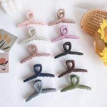 Gentle temperament hanger cross-grabbing clip Korea ins simple grasping clip plate hair bathing hair scratching head clip hair