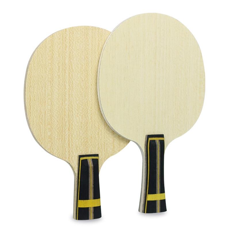 Huieson raqueta de tenis de mesa de carbono sin goma profesional de Ping-pong raqueta casa deportes accesorios de entrenamiento DIY