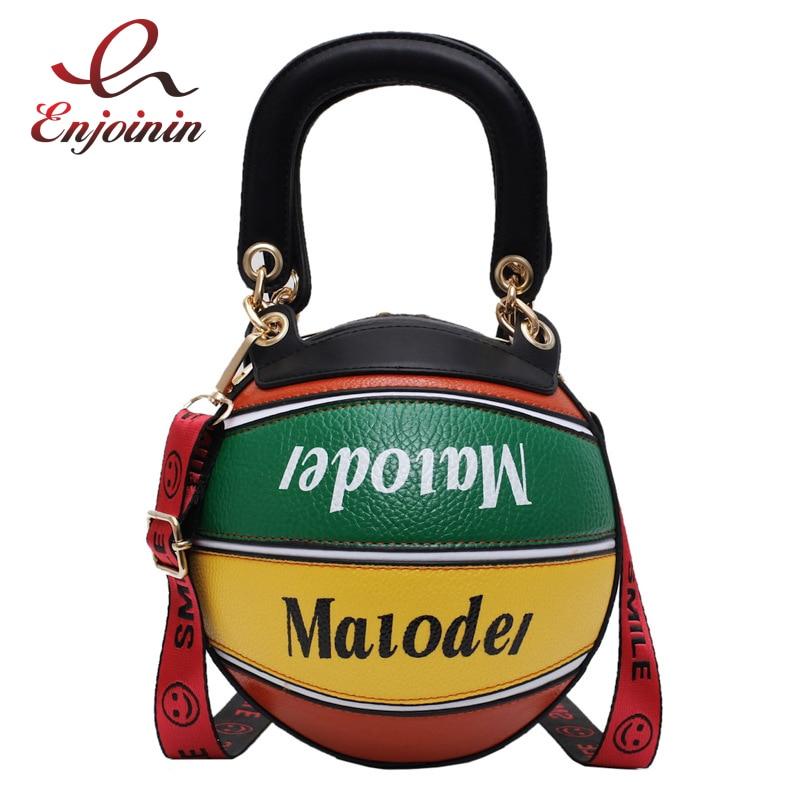 Nuevo diseño, Color de costura, bolsos de baloncesto para mujer, bolsos cruzados, bolso de mano informal, bolso de hombro, bolso diario, Bolsa femenina