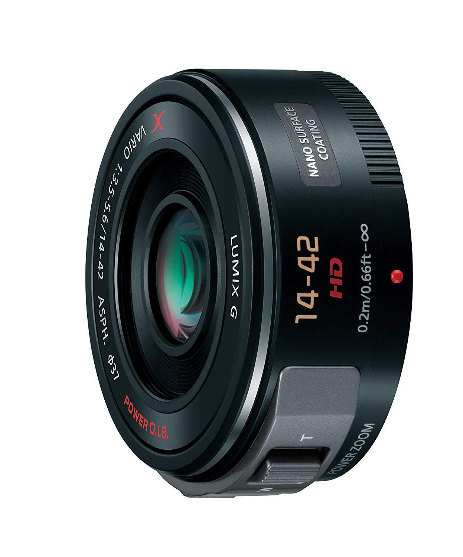 Se Panasonic premium LUMIX G X VARIO PZ 14-42mm/F3.5-5.6 ASPH lente