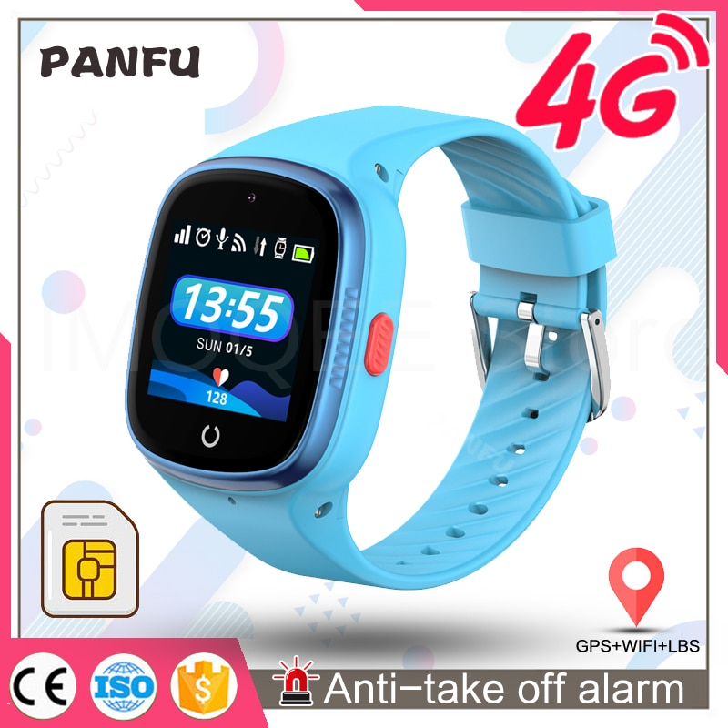 Smart Watch Kids GPS Tracking LT06 IP67 Waterproof Smartwatch Android Security Fence SOS Call Smart