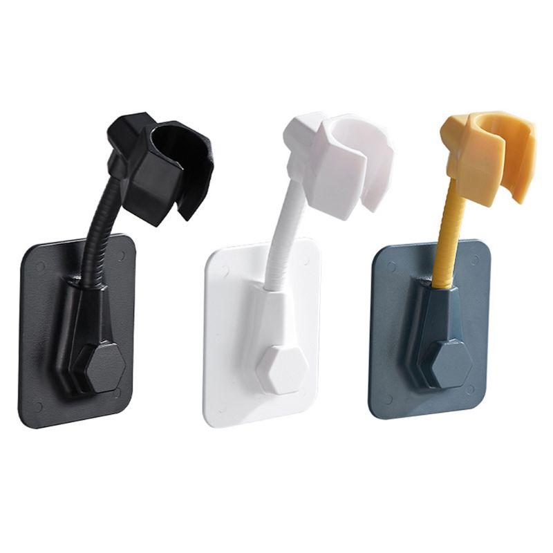 Minimalist Adjustable Bathroom Shower Head Bracket Bracket Sprayer Tool A0KE's Wall Bracket Bathroom Products
