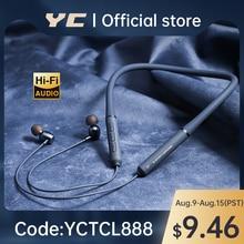 YC TWS Z1 Bluetooth Earphone Wireless Earbuds Magnetic Neckband headphone Waterproof Sport Headset w