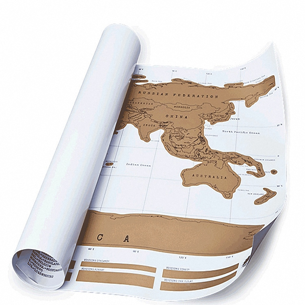 88x52 cm novo design preto scratch mapa mundo viagem zero fora do mapa melhor presente para a escola de educação mapa mundi mapa