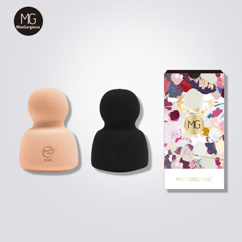 Juego de esponja de maquillaje Miss Gorgeous, 2 uds., esponja cosmética, Belleza,...